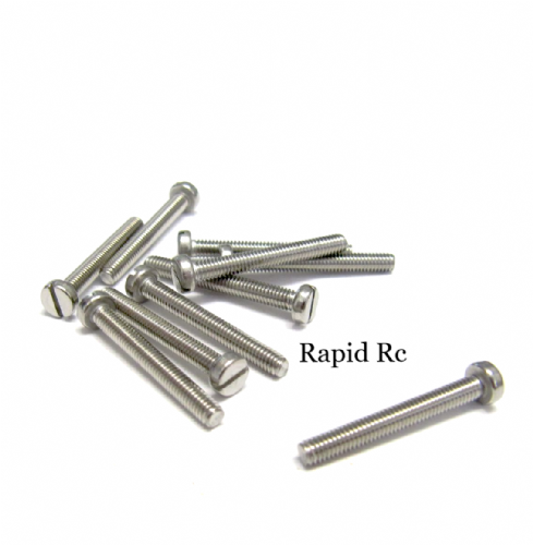 M2 x 20mm Stainless Steel Phillips Head Machine Screw